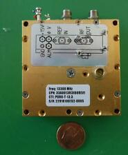 Herley CTI phase locked PDRO precision oscillator 13300 MHz, 13.3 GHz, tested