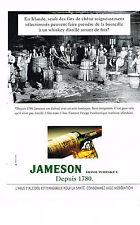 PUBLICITE  1996   JAMESON  irish whisky