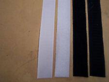 3x 1mx 25mm  tape / roll hook & loop free postage