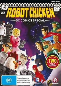 Robot Chicken - DC Comics Special (DVD, 2013)--FREE POSTAGE