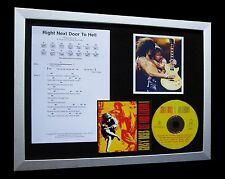 GUNS N ROSES Next Door Hell LTD CD TOP QUALITY FRAMED DISPLAY+FAST GLOBAL SHIP!!