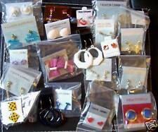 Job lot small vintage earrings - 10 pairs