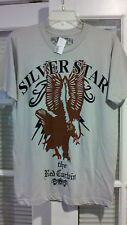 Pacsun Silver Star Mens Where Eagles Dare Graphic  T-Shirt - Size Medium   Nice!