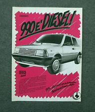 G587 - Advertising Pubblicità - 1987 - INNOCENTI 990 DIESEL