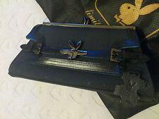 PLAYBOY borsa donna pochette nera con pelle Limited Edition - Originale e nuova!