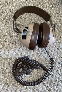 Custom Pro Realistic Stereo Made In USA Headphones - Great Condition!