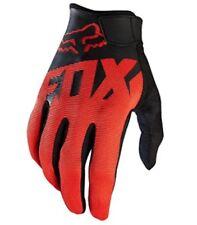 Mountain Bike Gloves Fox Racing Ranger Red & Black Grip Trail Extreme Biking MTB