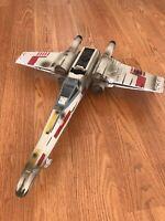 "Star Wars Vintage 20"" Large ESB Luke Skywalker X-Wing Fighter Hasbro 2002"