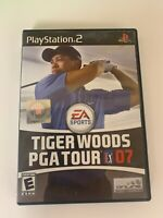 Tiger Woods PGA Tour 07 Play Station 2 Game Used A12
