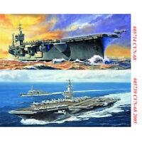 Trumpeter 05714 05739 1/700 USS Nimitz CVN-68/2005 Aircraft Carrier Model Kits