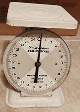 American Family Scale 25 lb. ~Mercantile Scale Antique Vintage