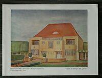 GFA) Blatt Hohenzollernstraße Bremen Schwachhausen 1926 Architektur Stoffregen +