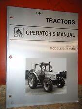 1998 AGCO WHITE CAB TRACTOR MODELS 6410-6510 ORIGINAL FACTORY OPERATORS MANUAL