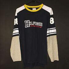 Vintage Men's 90's Tommy Hilfiger Athletics 88 Jersey Long Sleeve RARE