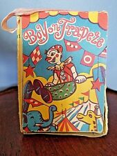 "VINTAGE BOY ON TRAPEZE JAPAN ~ BOX ONLY Trademarked ""T"" inside a star"