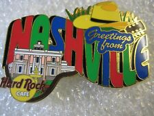 Hard Rock Cafe Pin NASHVILLE Greetings From