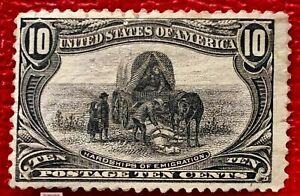 1898 US SC#290 10c Hardship of Emigration Trans-Mississippi Mint VLH/OG