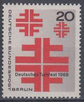 Germany Berlin 1968 ** Mi.321 Deutsches Turnfest | Gymnastics Festival