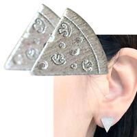 1 Coppia orecchini Pizza orecchino vite accessorio bigiotteria donna bambina