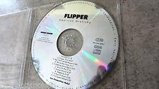 FLIPPER – American grafishy PROMO-CD Beggars Banquet/SPV