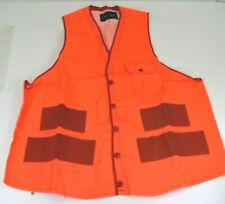 Red Head Men's Neon Orange Visibility Hunting Vest Size M  New