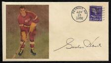 Gordie Howe Detroit Red Wings Collector Envelope With 1950s Stamp OP1329