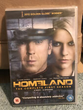 1p Auction New & Sealed, Homeland The Complete First Season, Series 1 DVD Boxset