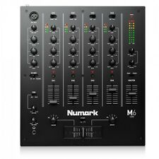 Numark M6 - 4 Channel Scratch Mixer EQ DJ Tabletop USB Plug'n'Play *EX-DISPLAY*