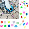 Bicycle Bike Wheel Plastic Spoke Bead Children Kids Clip Colored Decoration New