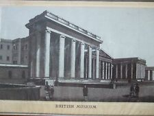 ANTIQUE PRINT C1800S BRITISH MUSEUM ENGRAVING LONDON HISTORY ETCHING TOPOGRAPHY