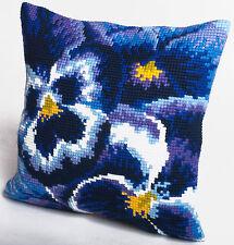 Collection D'Art Cross Stitch Cushion Kit: Winter CD5099
