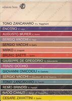 Catalogo generale libri d'arte 1976 Edizioni Bora Tono Zancanaro e altri
