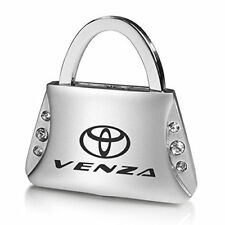 Toyota Venza Clear Crystals Purse Shape Key Chain