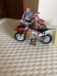 NEW Ray 1:12 Honda Geico 450 Toy Model Motocross motorbike dirt bike  Eli Tomac