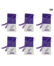 6 Pieces Empty Sachet Bags for Lavender Fragrance or Other Seed Spice Party Gift