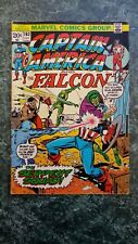 CAPTAIN AMERICA 163 1st SERPENT SQUAD KEY ISSUE 6.0 Fn OW pages (MARVEL COMICS)