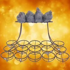 EIERRACK Eisen 4 Hühner 15 Eier Essen & Trinken nicht nur für jedes feine Dinner
