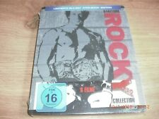 Rocky Collection I-V 1-5 + Rocky Balboa Blu-Ray Steelbook NEU