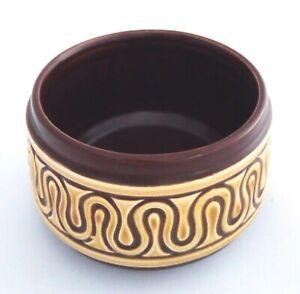 Vintage SylvaC Sugar Bowl - Brown - 1960s / 1970s - Concorde Range - Pottery