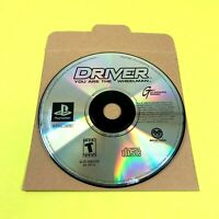 Driver : You are the Wheelman Sony PlayStation 1 PS1 Video Game DISC ONLY Tested