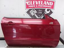 2010-2014 Ford Mustang OEM RH Right Passenger Door Assembly Ruby Red Convertible