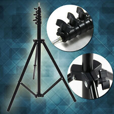 Adjustable Pro Flash Light Stand Tripod for Photo Studio Video Lighting 2.4m