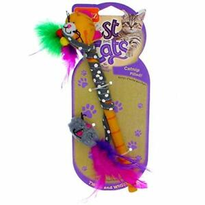 Hartz Just For Cats Twirl and Whirl Interactive Cat Toy Wand