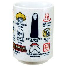 Spirited Away Tea Cup Sushi Mug w/ English translation Studio Ghibli Japan