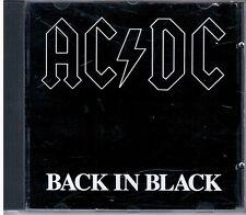 AC DC -  BACK IN BLACK -   CD   ATLANTIC RECORDING CORPORATION   7567- 81472 F.C