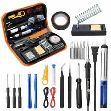 Soldering Iron Kit Desoldering Welding Electronics Mobile Repair Wire Tube Plier