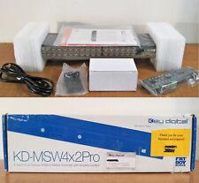 Key Digital 4-to-2 RGBHV Matrix Switcher Analog HDTV Fat Boy Series KD-MSW4x2Pro