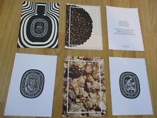 Diptyque 50 Year Anniversary Set of 6 Postcards Limited Edition