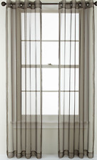 Studio Jcpenney Home Open & Shut Grommet Set of 2 Panels Taupe 50 X 95