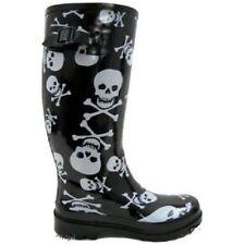 Calzado de mujer botas de agua color principal negro sintético